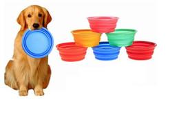 ciotole per cani pieghevoli per animali domestici Ciotole per animali domestici ciotole in silicone per cibo il cane che beve acqua ciotole per animali domestici da