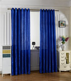 Wholesale Modern Style Decoration - Solid Color Voile Window Curtain Modern Style Brief Window Curtains For Home Bedroom For Living Room Decoration Drapes Many Colors 12 3xs CZ