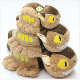 Wholesale Cat 15 - Hot Sale 3 Size 15-30cm My Neighbor Totoro Cat Bus Plush Doll Stuffed Toy Gifts for kids Wholesale