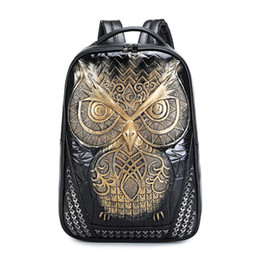 Wholesale Packaging Book - Leisure fashion waterproof Computer laptop bag package cute big leather backpacks book bags for high school students