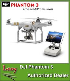 Wholesale Dji Drone - 100% Authentic DJI Phantom 3 4 UAV Professional  Advanced  Stardard Quadcopter Drone with 4K HD Video Camera Large Drones