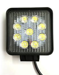 Wholesale 27 Led Work Light - free shipping 4 inch 27 w led light , auto led work light, led tractor working lights