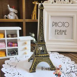 15cm Vintage Alliage de Ton Bronze Paris Tour Eiffel Figurines Statue Modèle Décor ? partir de fabricateur
