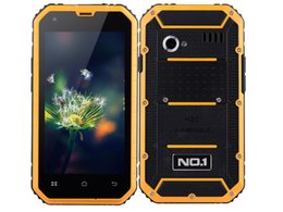 Wholesale Dual Band Water Proof Phone - NO.1 M2 IP68 MTK6582 Waterproof phone Quad Core 4.5'' Android 5.0 1GB RAM 8GB ROM 13MP dual-bands 1.3GHz Smartphone