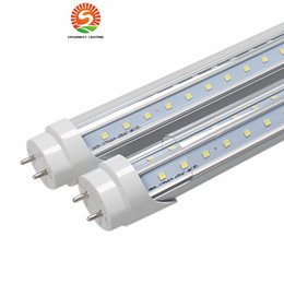 Wholesale Side Glow - T8 LED Tubes light V-Shape double glow both sides 4ft 28w 1.2m G13 LED fluorescent light AC85-265V CE UL RoHS