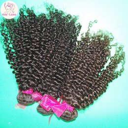 Wholesale Cheap Wholesale Kinky Curly Weave - Clearance Cheap 8A Virgin Kinky Curly Brazilian Human Hair Wefts 4 bundles Deal Thick Weaves Amazing DHgate Weave