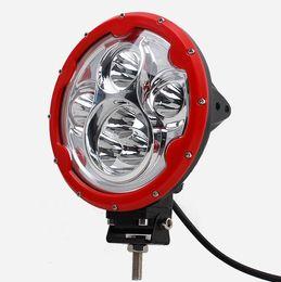 fahrzeug arbeitsscheinwerfer 12v Rabatt 7inch 60W 6x10W LED-Strahler Auto 12V wasserdicht Spot Offroad Lampe 4x4 ATV Fahrzeug LED Arbeitsscheinwerfer Nebelscheinwerfer fahren