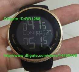Wholesale Watch Digital Diamond Black - Christmas Gifts New Luxury Hot Sell Luxury Brand Women's Digital Quartz 114 Diamond Watch YA114208 Men's Sport Wrist Watches Black Rubber