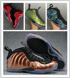 2019 pattini di pattino di aria dura con scatola Mens Air Penny Hardaway Galaxy One 1 uomini scarpe da basket olimpiche scarpe da corsa scarpe da ginnastica olimpiche scarpe sportive 41-47. pattini di pattino di aria dura economici