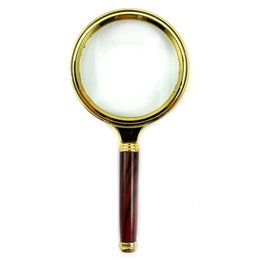 Wholesale Loupe Wholesale - Wholesale-10X Hand Held Magnifying Glass Lens Magnifier Loupe Reading Magnification Tool