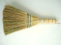 Wholesale Finish Clean - Broom Clean Household Cleaning Tools Sorghum Seedlings High Quality Brooms Clean Campus Site School Sanitation Broom 60 Cm Finishing Tools