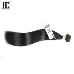 2017 HC YENI Ürünler Düz Perulu Saç Demetleri 100% Bakire Brezilyalı saç Remy Kalite Düz Saç Fabrika Toptan cheap brazilian hair factory wholesale nereden brezilya saç fabrikası toptan ticareti tedarikçiler