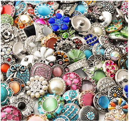 Wholesale Random Buttons - Free shipping NEW 60pcs lots High quality metal snap button for bracelet OEM ,ODM random delivery ML1988