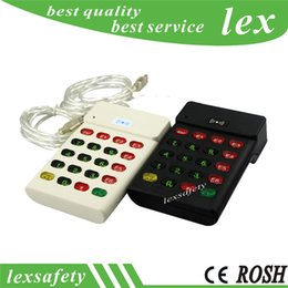 Wholesale Rfid Reader Keypad - 13.56mhz ic rfid card keyboard reader,proximity electronic keypad reader for M1 NFC card,M1 nfc key board card reader