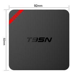 2019 mx tv box quad core T95N Mini MX + Amlogic S905X TV Android Box 1GB 8GB 4K 3D Streaming Media Player Configuration intelligente Wifi Blu-ray mx tv box quad core pas cher