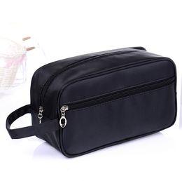 Wholesale Bag Cosmetic Beauty Case Waterproof - waterproof nylon cosmetic bag travel toiletry organizer for men zipper beauty case fashion make up box