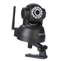 Wholesale Dual Camera Infrared - Wireless IP Camera WIFI Webcam Night Vision(UP TO 10M) 10 LED IR Dual Audio Pan Tilt Support IE S61