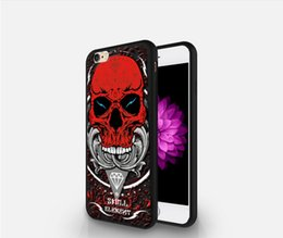 Wholesale Iphone Personalized Case - NEW OEM Personalized Custom DIY Painted Relief Animal TPU Cell Phone Cases for iPhone 6 6S Fedex FREE SHIP