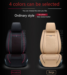 Wholesale Hyundai Elantra Car Accessories - Special Leather car seat covers For Hyundai All Models solaris ix35 30 25 Elantra MISTRA GrandSantafe accent accessories styling