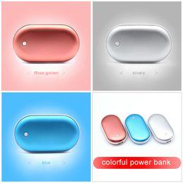 Wholesale Hand Warmer Power Bank - Creative Cobblestone Hand Warmer Power Bank 4000 mAh USB Mini Rechargeable explosion-proof Intelligent Control Winter Gift Powerbank