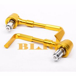 Wholesale Ktm Brake Lever - New CNC Aluminium Universal Motorcycles Hand Protection Brake Clutch Levers Protector Falling Protection For Honda Suzuki KTM