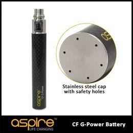 Wholesale Ego Electric Cigarettes - 100% original High Quality Cigarette Battery Aspire Battery CF G-Power Electric Cigarette Ego Battery Gpower Aspire CF Battery