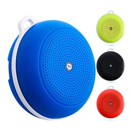 Wholesale Wireless Audio For Ipad - 2016 Outdoor sports Portable Wireless Bluetooth Speaker mini speakers Handsfree Receive Call for Samsung iPhone Laptop iPad MP3 MP4 TF Card