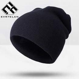 Wholesale Headgear For Winter - Hot Sales Fashion Winter Hat For Women Skullies Beanies Knitted Hat Female Cap Brand Women Beanies Hat Pure Color Headgear