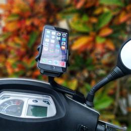 Fahrrad Motorrad Rückspiegel Handy Halterung Halter Halterung Einstellbar für iphone 7 7 Plus 6 S Plus für Samsung Hinweis 7 von Fabrikanten