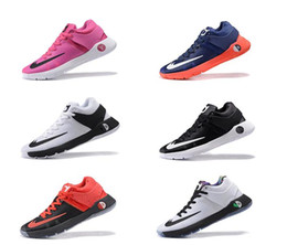 Wholesale Mens Basketball Kd - KD Trey 5 Knit BHM Bred Basketball Shoes Mens Treys 5 IV Wine Red Yellow White Size 7-12 Come