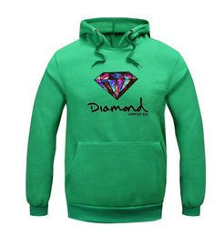 Wholesale Clothes Evening Long - Best Sellers 2016 New Pattern Thickening Diamond Supply Increase Down Even Midnight Hoodie Hoodies Sweatshirts Mens Clothing