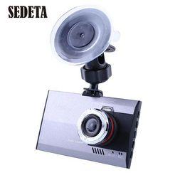 "Wholesale Cheap Camcorders Hd - Ultra-thin 3"" HD 720P 1080P Car Camera Recorder DVR Camcorder G-sensor Cheap dvr embedded High Quality dvr camera software"