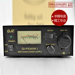 Fonte de alimentação de comutação de saída dc dc on-line-Atacado-QJE PS-30SW eu AC ao Switching DC Power Supply 13.8V saída 30A para rádio móvel
