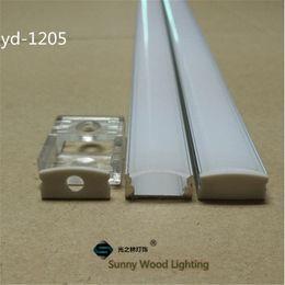 Wholesale Led Strip 12v 1m - Free shipping10set lot 1m led aluminium profile for led bar light, led strip aluminum channel, waterproof aluminum housing YD-1205