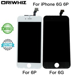 Wholesale Iphone Cold - Grade AAA LCD Display For iPhone 6 6 plus 6plus Touch Screen Digitizer Cold Press Frame Full Assembly Replacement Mix Order Available