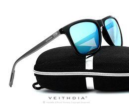 Wholesale Aluminium Frame - Aluminium Polarized Sunglasses Fashion Retro Driving Mirrored Eyewear Shades with original box