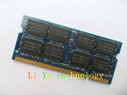 Wholesale Pc2 Sodimm - Nanya 2GB DDR2 SODIMM 667MHz PC2-5300 200pin notebook computer notebook memory Original authentic ram