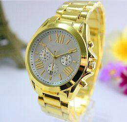 Wholesale Ladies New Design - 2016 New Colorful Dial Summer Luxury Fashion Design Ladies Watch Women Full Logo Gold Female Quartz Clock Relojes De Marca Mujer