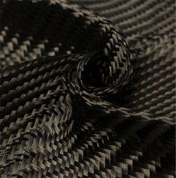 Wholesale Carbon Fiber Weave - Carbon Fiber Fabric 3K 2 2 Twill Woven 0.28mm Thick 5 Counts cm Carbon Yarn Weave Cloth For Car Parts Sport EquipmentsHome Decor