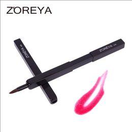 Wholesale Brush Zoreya - ZOREYA Single Adjustable Makeup Brush Wool Fiber Brush Head Soft and comfortable High Quality Lip Brush