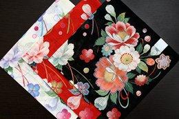 Wholesale Vintage Child Hanky - Good quality 100 cotton handkerchiefs,Rich flowers design,49*49cm pocket square,vintage hankies