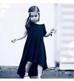 Wholesale Wholesale Short Cotton Maxi Dresses - Hot 2016 Baby Girls Cotton Maxi Dresses Kids Girl Princess Dress Babies Summer Ruffle Dress Children's Clothing BH2374