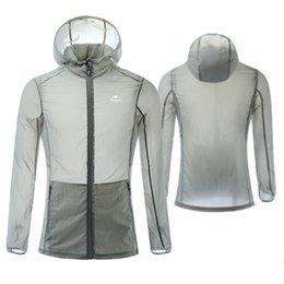 Wholesale Uv Protective Coatings - hot Summer Sun Sports Protective Cloth Long Sleeve UV Sunscreen Zipper Thin Coat free shipping