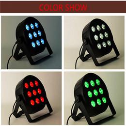 Wholesale Par Dim - LED Par 9x12W RGBW 4IN1 DJ Disco Lighting Par Led RGBW Stage Par Light DMX Controller Party Disco Bar Strobe Dimming Effect