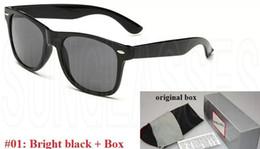 Wholesale Vintage Sunglasses Sale - 54mm 2140 Hot Sale Aviator Sunglasses Vintage Pilot Brand Sun Glasses Band Polarized Men Women Ben wayfarer sunglasses