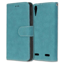 Wholesale X2 Phone Wholesale - Matte Retro Wallet Leather Case For Lenovo A6000 A1000 A2010 Angus2 A5000 A7010 A7000 VIBE P1 X2 X3 Frosted Cards Stand Phone Cover 150pcs