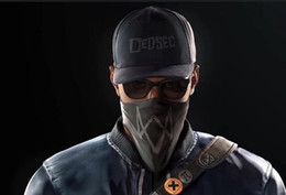 Wholesale Watch Cap Black - Watch Dogs 2 Marcus Holloway Cap And Mask