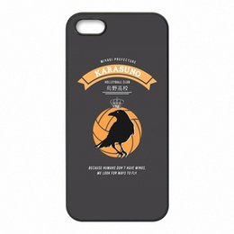 Wholesale Anime Iphone 5c Case - Anime haikyuu hinata Phone Covers Shells Hard Plastic Cases for iPhone 4 4S 5 5S SE 5C 6 6S 7 Plus ipod touch 4 5 6