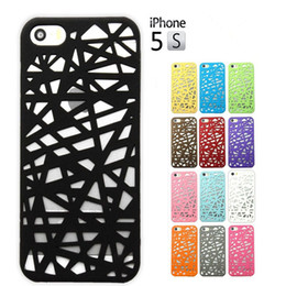 Wholesale Nest Phone Case - Hot!3D Hollow Bird Nest Snap Back Cover Cell Phone Shell Cases For iPhone 5 iPhone 5S iPhone5 5S Case