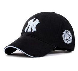 Wholesale Ny Cap Color - 11 Color Yankees Hip Hop MLB Snapback Baseball Caps NY Hats MLB Unisex Sports New York Adjustable Bone Women casquette Men Casual headware